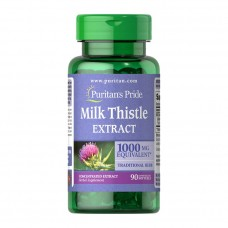 Puritan's Pride Milk Thistle Extract 1000 mg 90 softgels