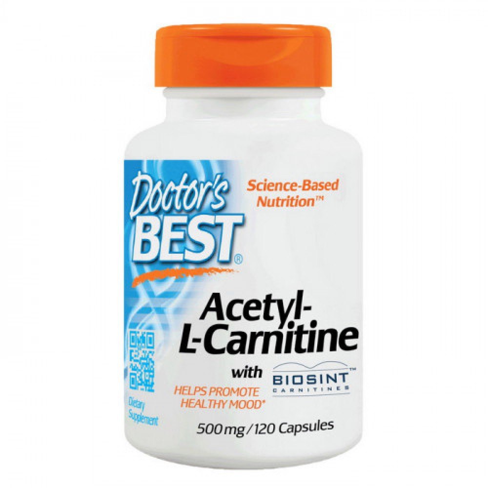 Doctors BEST Acetyl-L-Carnitine 120 caps