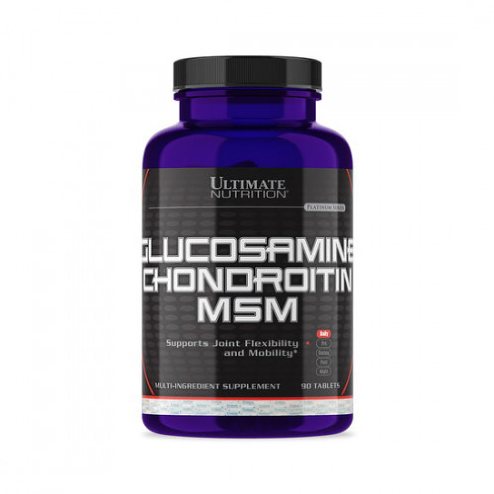 Ultimate Nutrition Glucosamine Chondroitin MSM 90 tabs