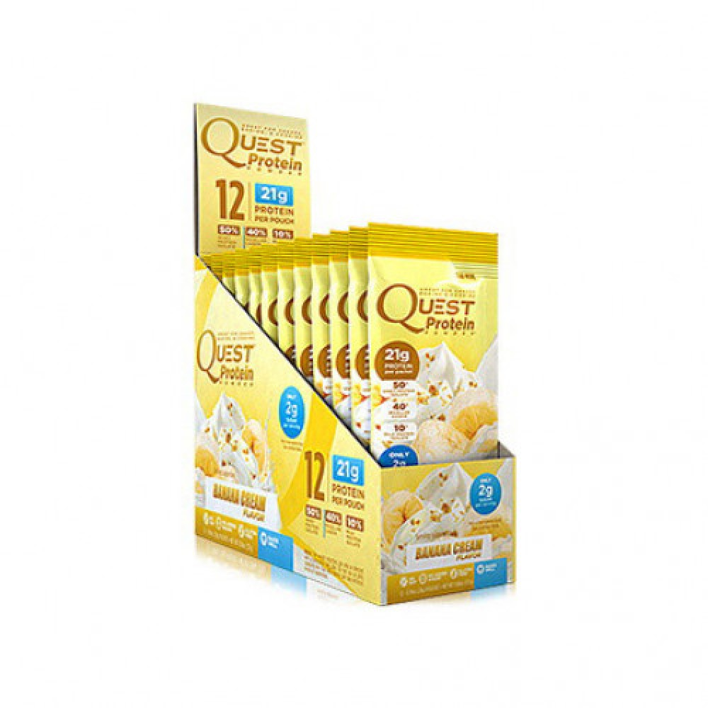 Quest Nutrition Quest Protein Banana Cream 12 x 28 g