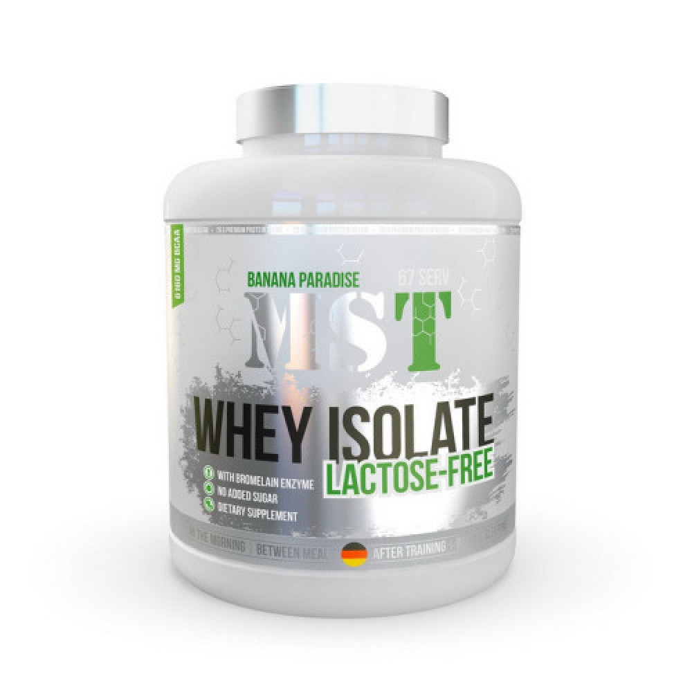 MST Sport Nutrition Whey Isolate Lactose-Free 2,3 kg