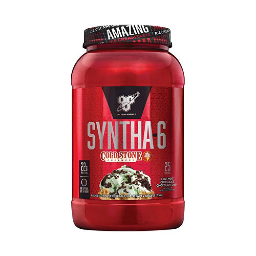 BSN Syntha-6 Cold Stone Creamery 1,17 kg