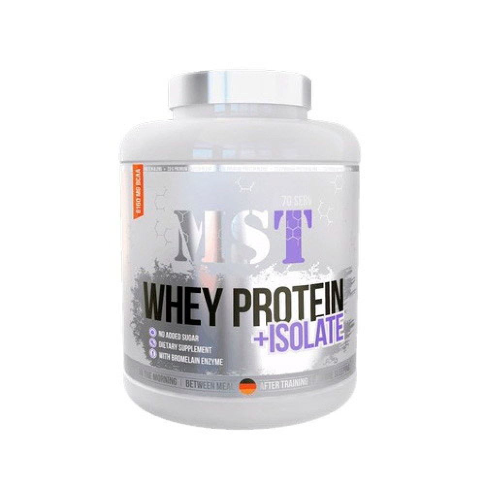 MST Sport Nutrition Whey Protein + Isolate 2,1 kg