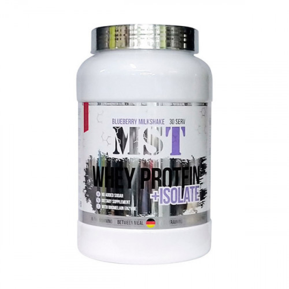 MST Sport Nutrition Whey Protein + Isolate 900 g