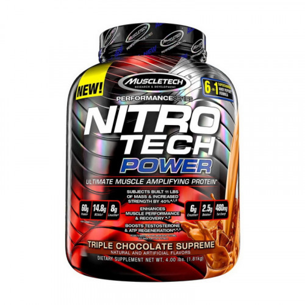 MuscleTech NitroTech Power 1,81 kg