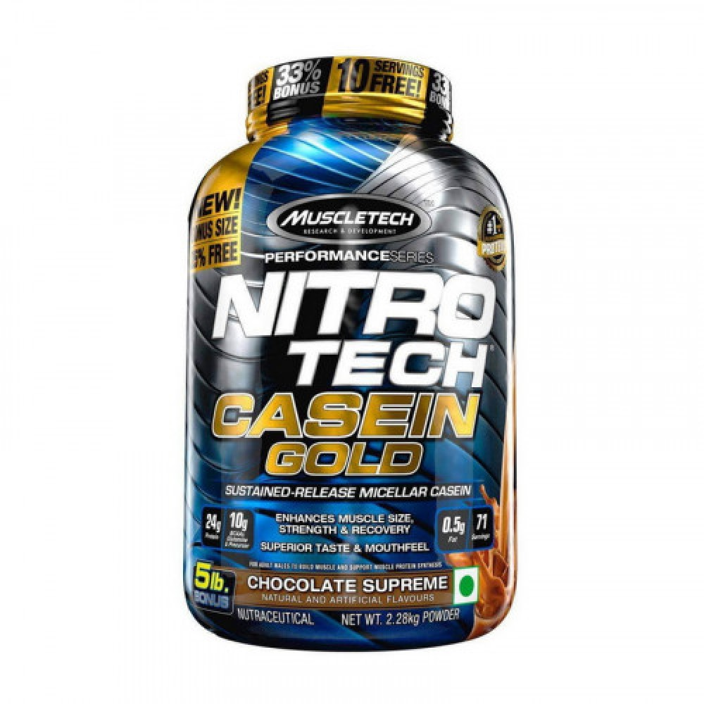 MuscleTech Nitro Tech Casein Gold 2,28 kg