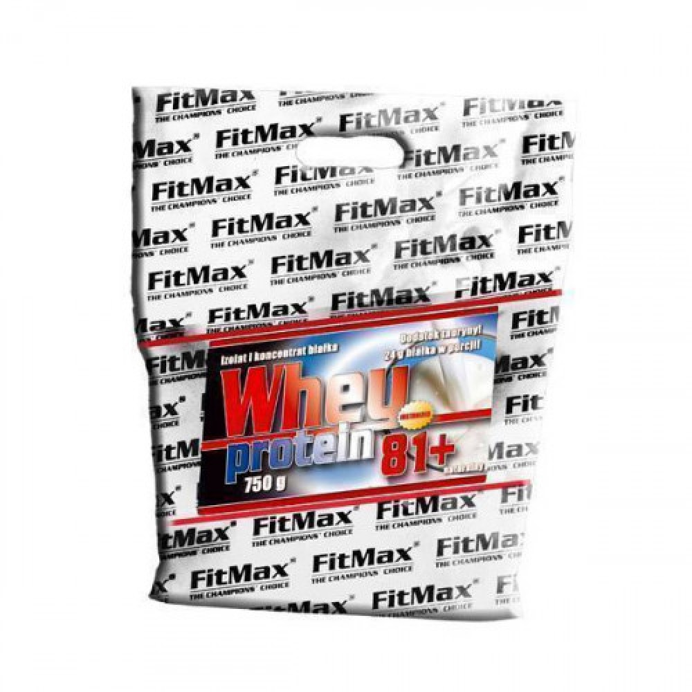 FitMax Whey Pro 81+ bag 0.75 kg