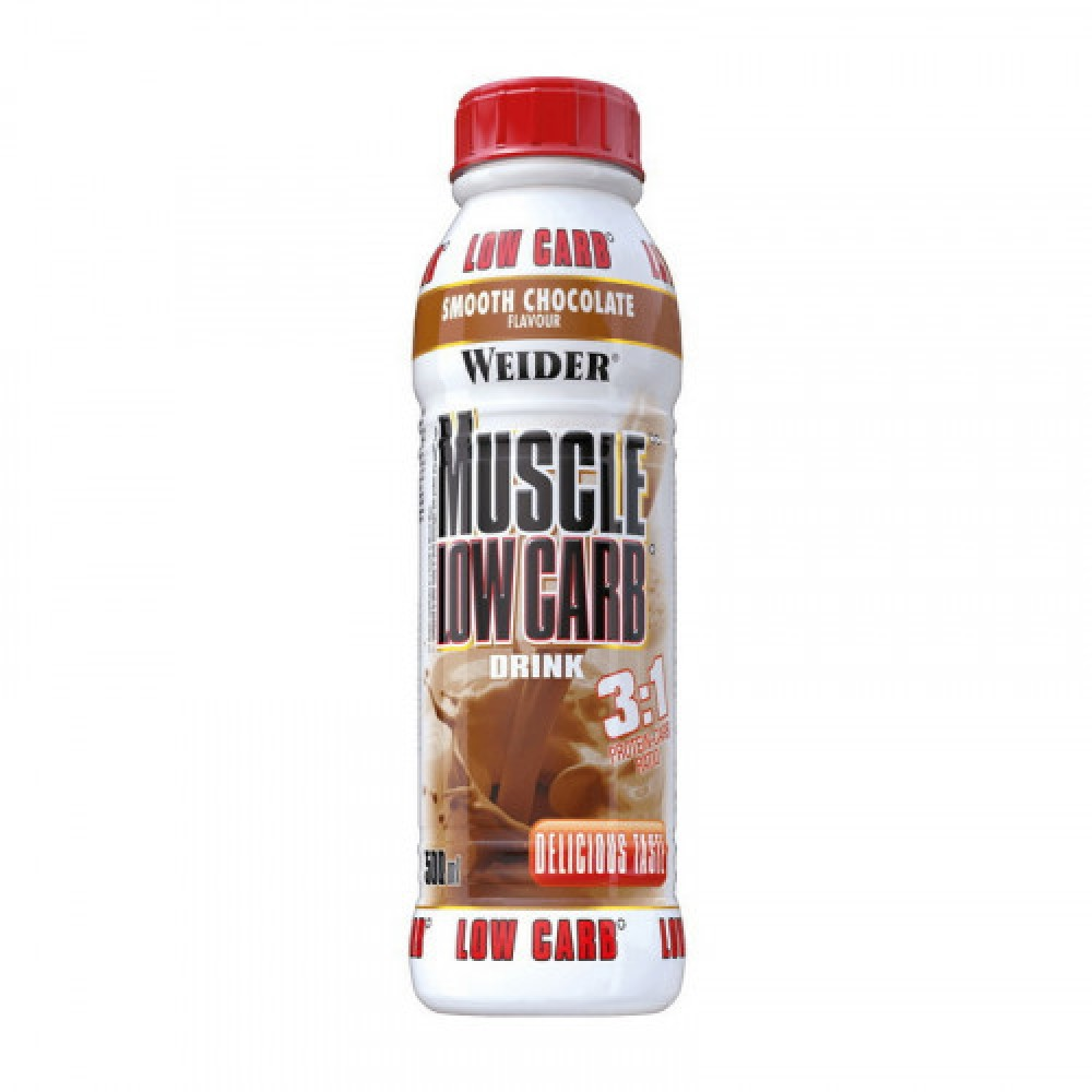 Weider Muscle Low Carb Drink 500 ml