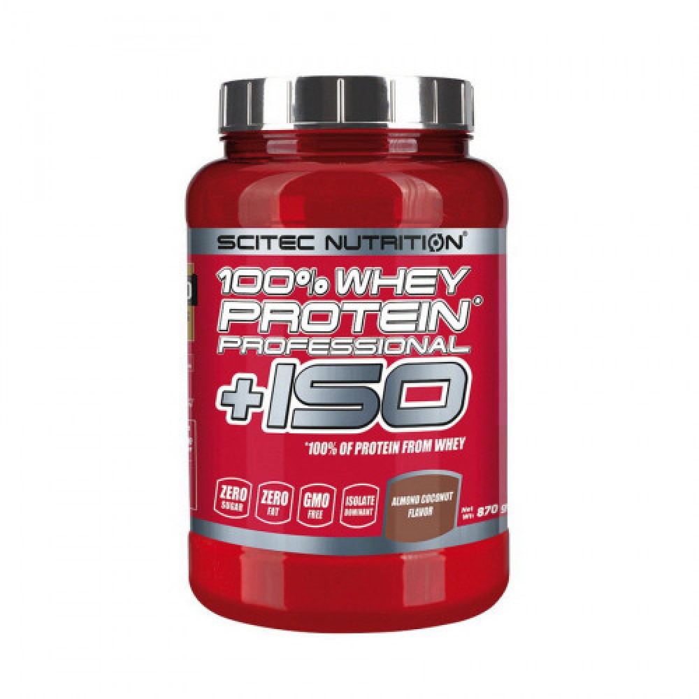 Scitec Nutrition 100% Whey Protein Professional +ISO 870 g