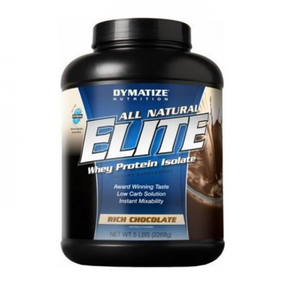 Dymatize All Natural Elite Whey 2.3 kg