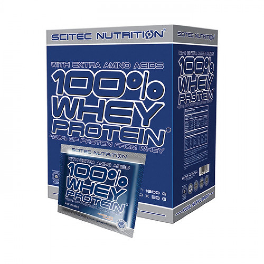 Scitec Nutrition 100% Whey Protein 60 x 30 g
