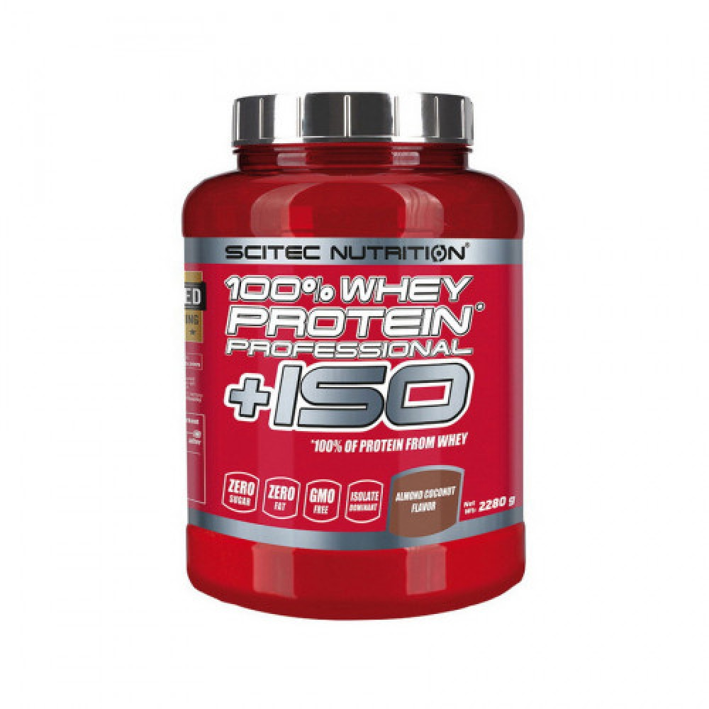 Scitec Nutrition 100% Whey Protein Professional +ISO 2,28 kg
