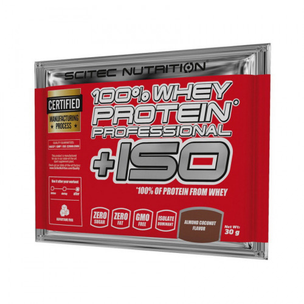 Scitec Nutrition 100% Whey Protein Professional +ISO 1 x 30 g