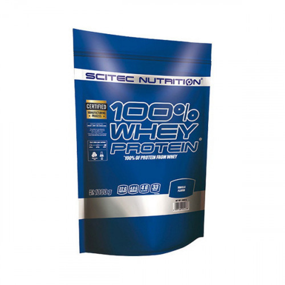 Scitec Nutrition 100% Whey Protein 1 kg