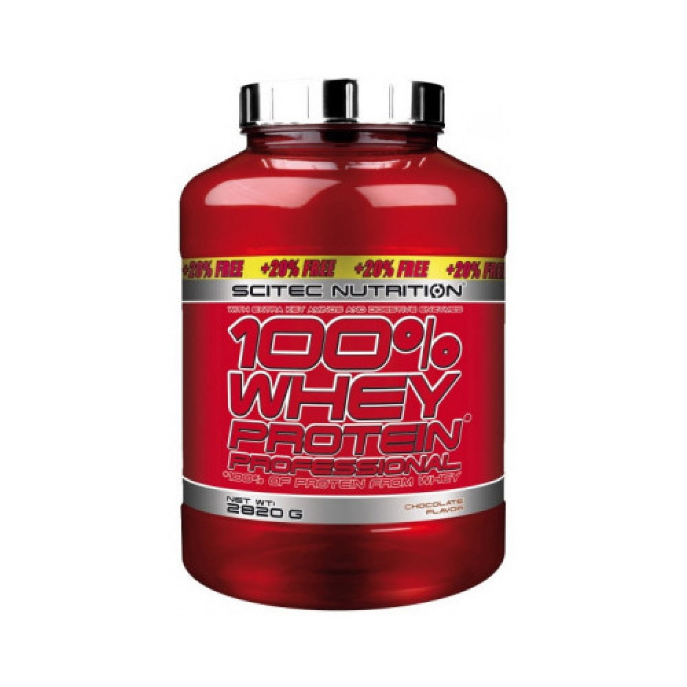 Scitec Nutrition 100% Whey Protein Professional + 20% Free 2,82 kg