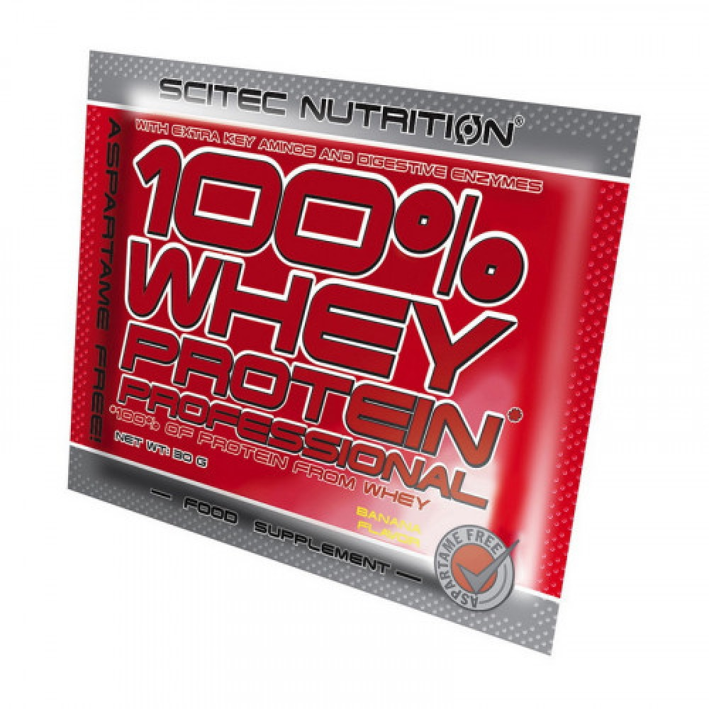 Scitec Nutrition 100% Whey Protein Profes. 1x30 g