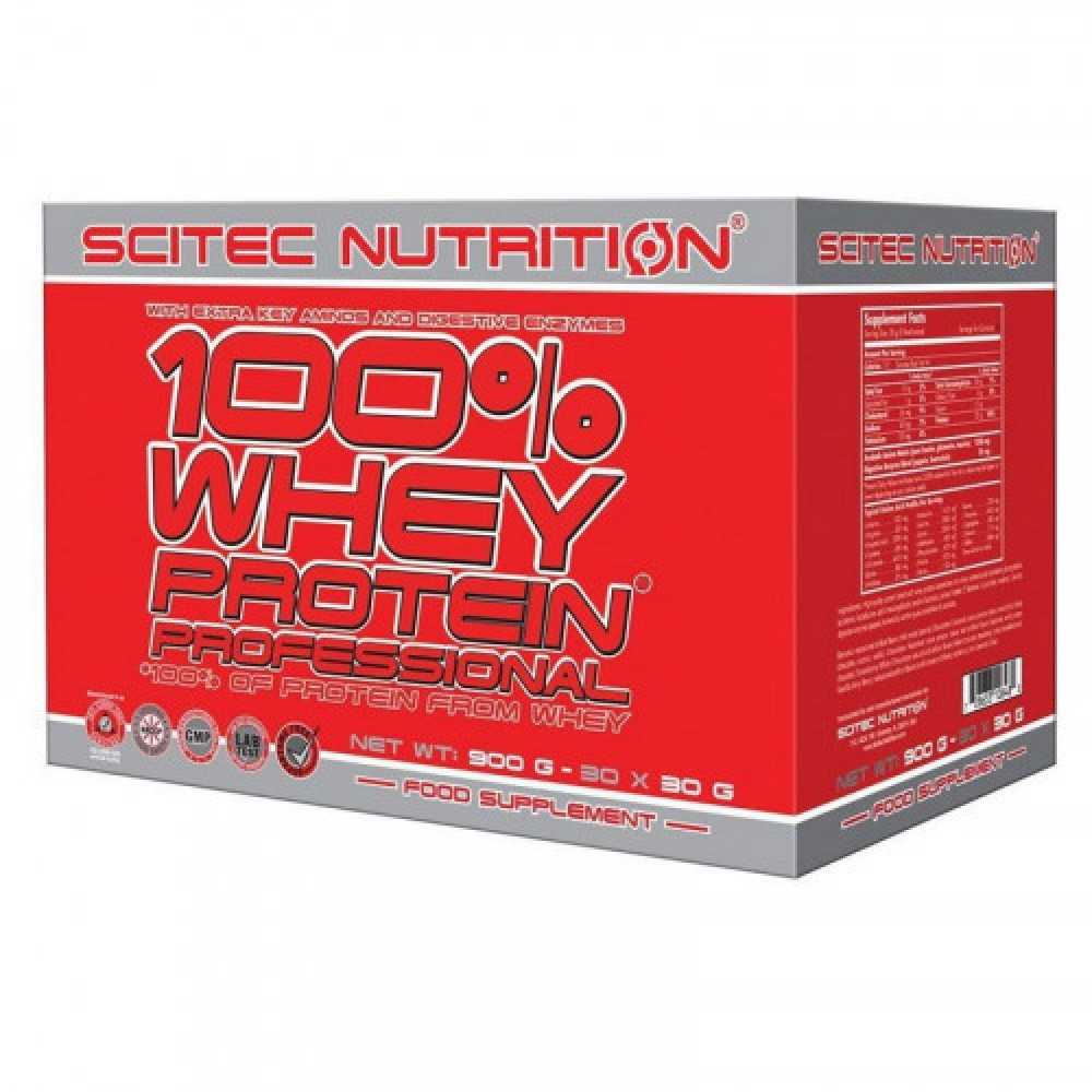 Scitec Nutrition 100% Whey Protein Prof. 30x30 g