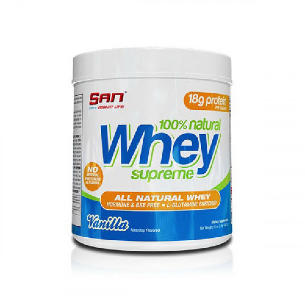 S.A.N 100% Natural Whey Supreme 454,3 g