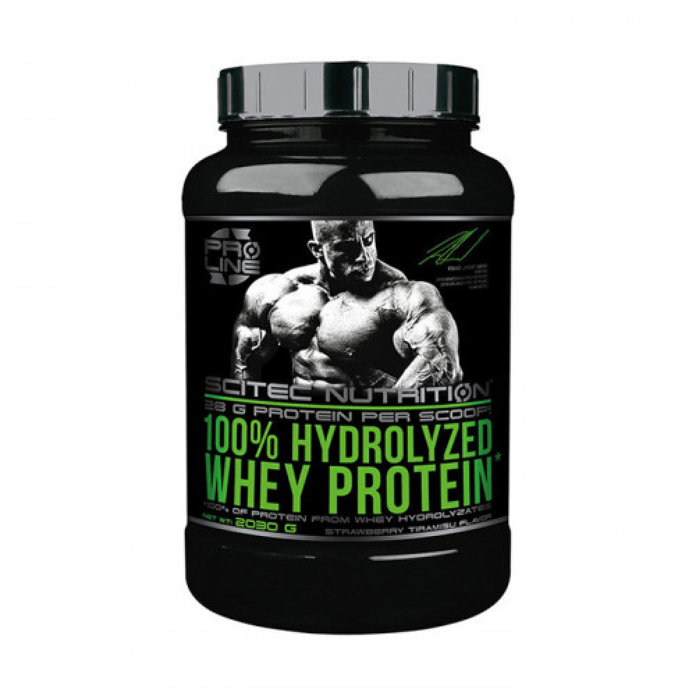 Scitec Nutrition 100% Hydrolyzed Whey Protein 2,03 kg