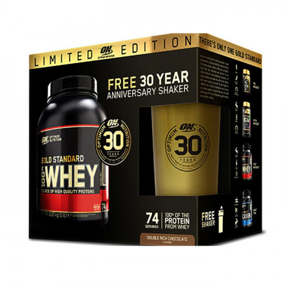 Optimum Nutrition 100% Whey Gold Standard 2,3 kg + Shaker