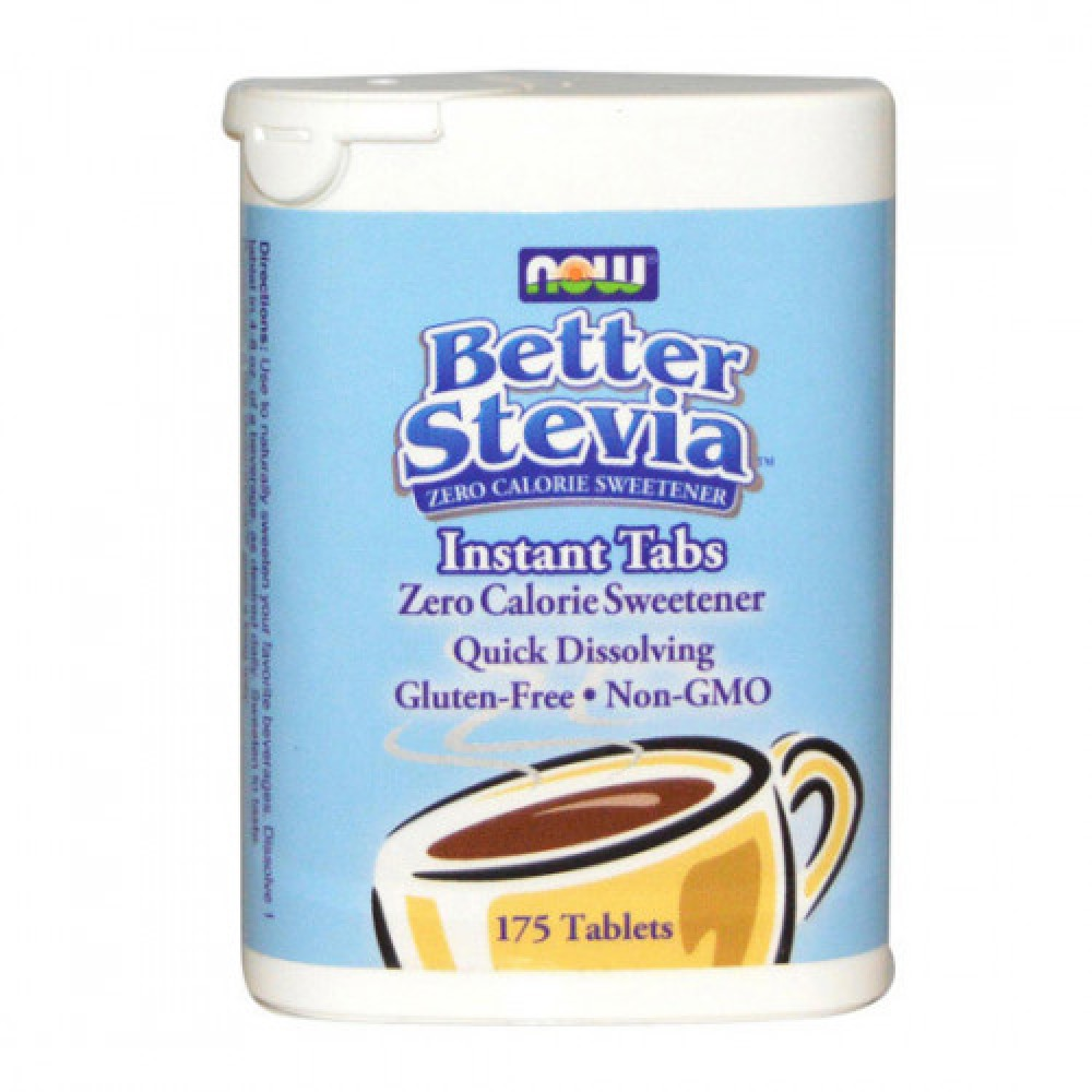 NOW Better Stevia Instant Tabs 175 tabs