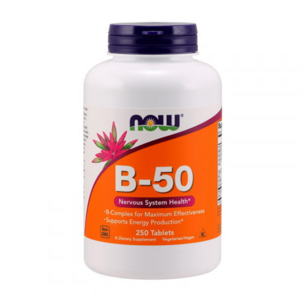 NOW B-50 250 tabs
