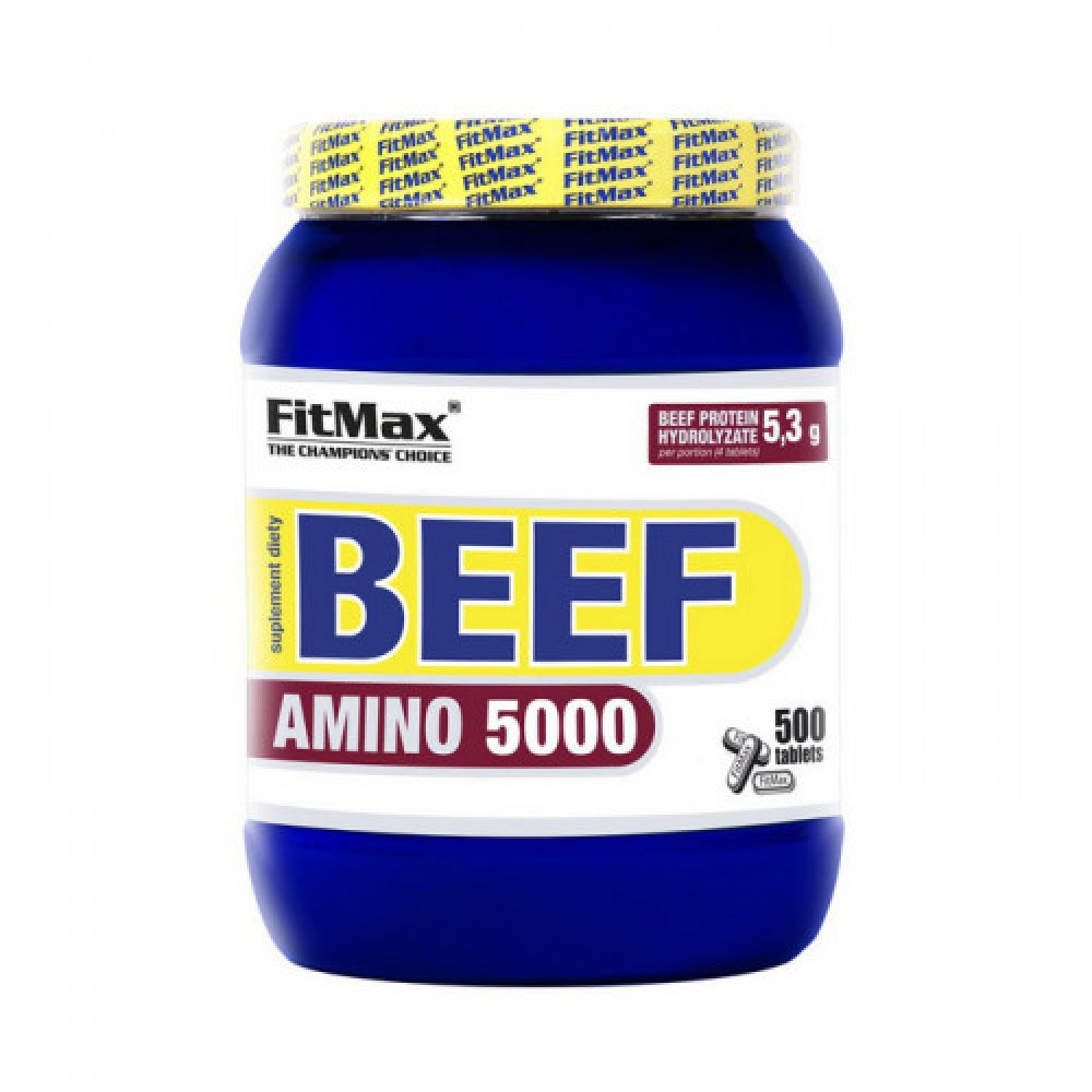 FitMax Beef Amino 5000 500 tabs