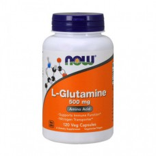 NOW L-Glutamine 500 mg 120 caps