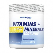 Energybody Systems Vitamins + Minerals 300 g
