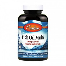 Carlson Labs Fish Oil Multi 120 softgels