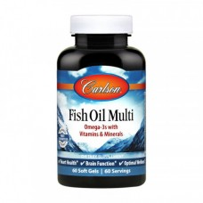Carlson Labs Fish Oil Multi 60 softgels
