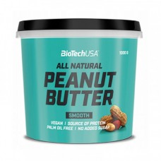 BioTech All Natural Peanut Butter Smooth 1 kg
