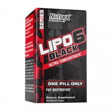 Nutrex Lipo 6 Black Ultra Concentrate 30 black caps