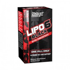 Nutrex Lipo 6 Black Ultra Concentrate 60 black caps