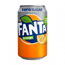 The Coca-Cola Company Fanta Zero Sugar Orange 1 x 330 ml