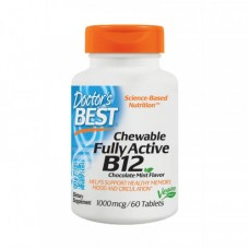 Doctors BEST Chewable Fully Active B12 60 tabs