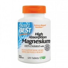 Doctors BEST Magnesium High Absorption 120 tabs