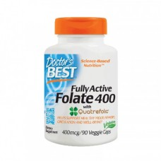 Doctors BEST Fully Active Folate 400 90 veg caps